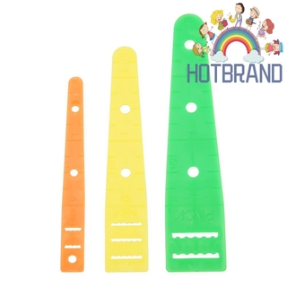 (Hotbrand) 3pcs Plastic Thread Guide Needle Threader Embroidery Stitch Sewing Tools
