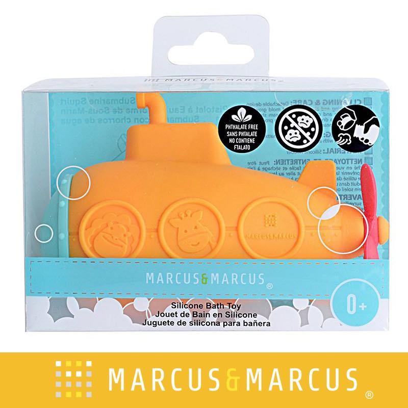 Đồ chơi tắm silicon có báo nhiệt cho bé Marcus & Marcus - Submarine Squirt