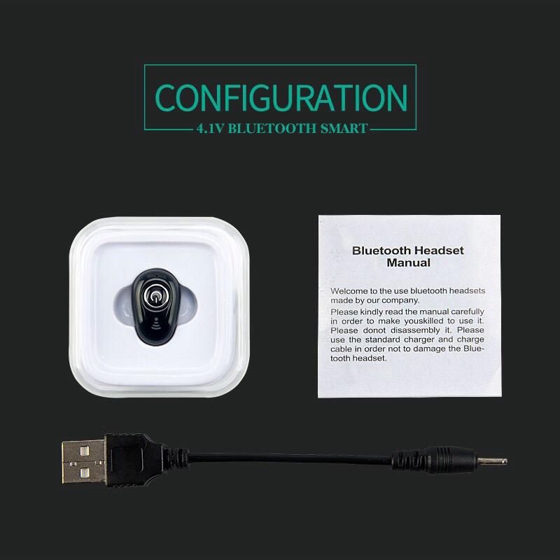 Tai nghe bluetooth nhét tai mini S650 V4.1 tích hợp mic