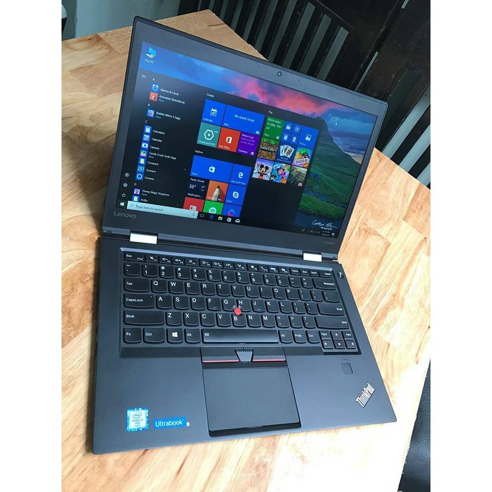 Laptop IBM thinkpad X1 Carbon Gen 4, i5 – 6300u, 8G, 128G, Full HD Giá chỉ 16.400.000₫