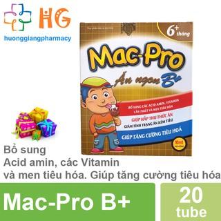 Mac Pro - Bổ sung Acid amin, các Vitamin và men tiêu hóa. Giúp tăng cường tiêu hóa (Hộp 20 ống) thumbnail