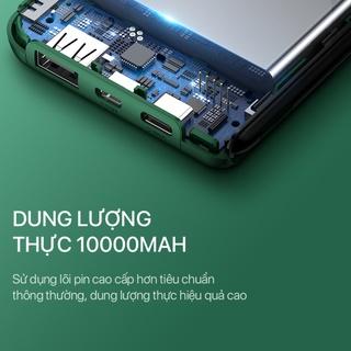 Hình ảnh Pin Sạc Dự Phòng 10.000mAh ROBOT RT180 - 1 Cổng Sạc Ra USB & 2 Cổng Sạc Vào MicroUSB / Type-C - Bảo Hành 12 Tháng-6