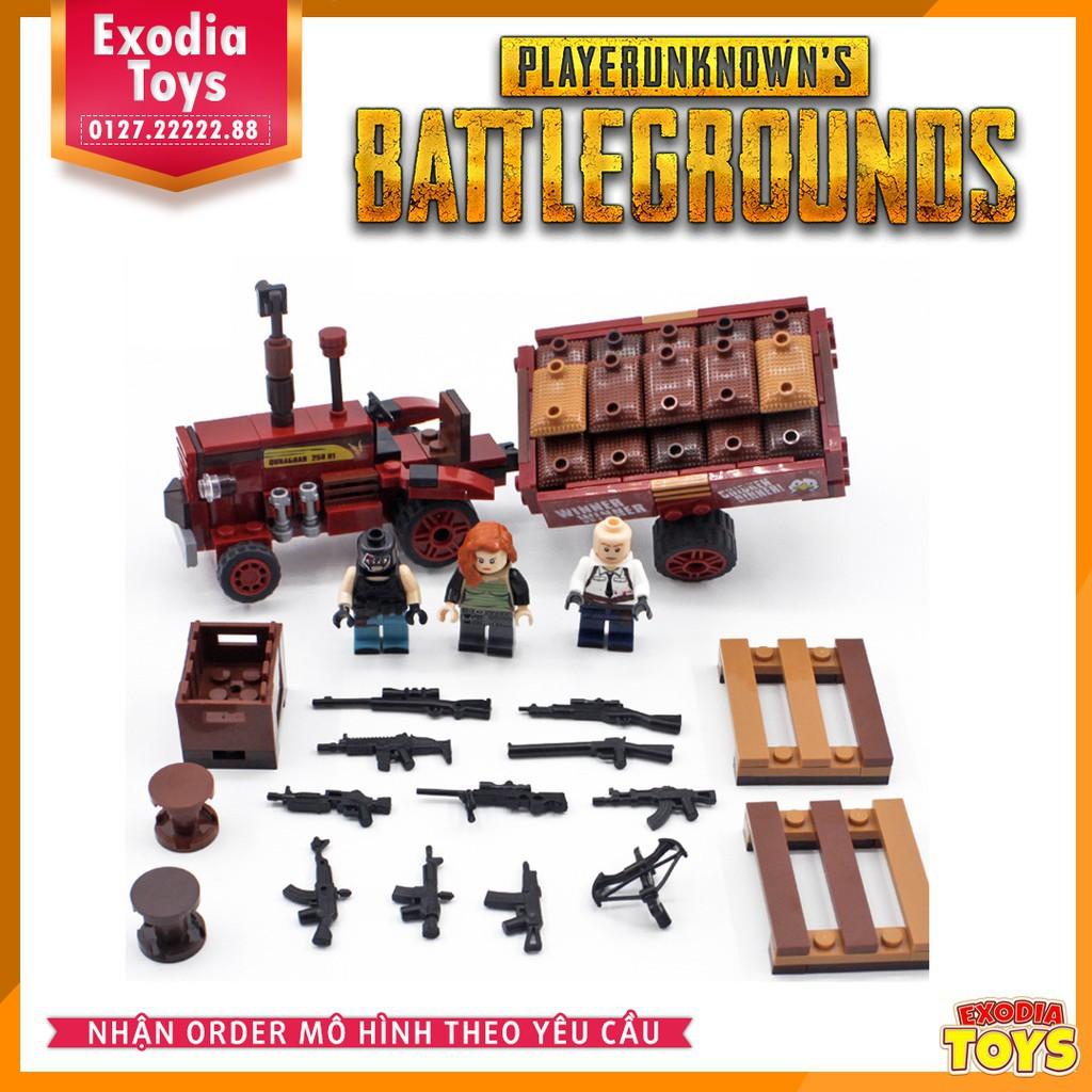 Xe tải nhỏ PUBG - Pickup Truck PlayerUnknown's Battlegrounds