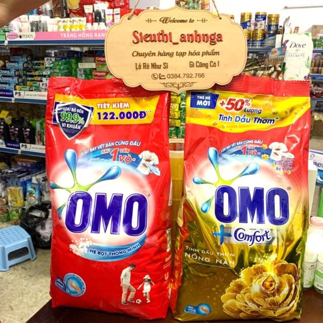 Bột Giặt Tay Omo 6kg/5,5kg Hương Comfort