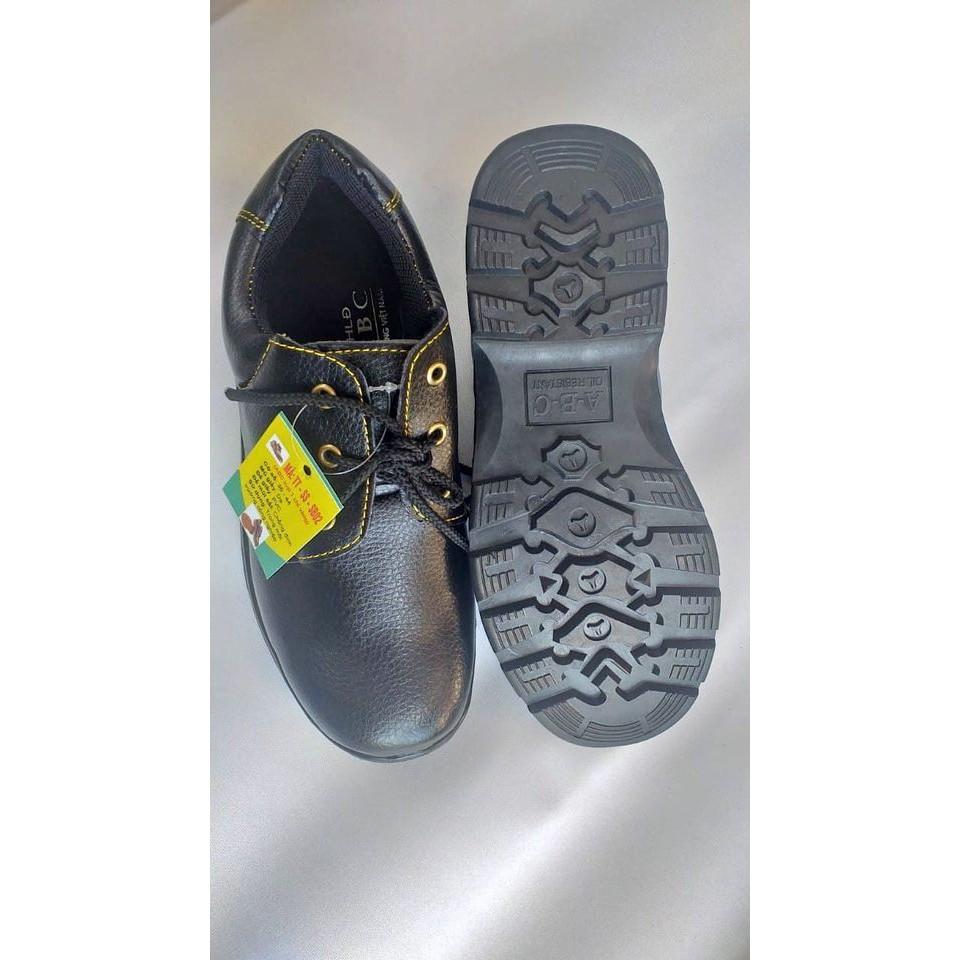 Giày bảo hộ lao động ABC Chính hãng mũi sắt chỉ vàng T223