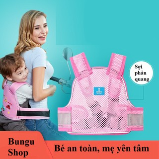 🔥FREESHIP🔥 Đai đi xe máy có phản quang cho bé – Bungu Shop