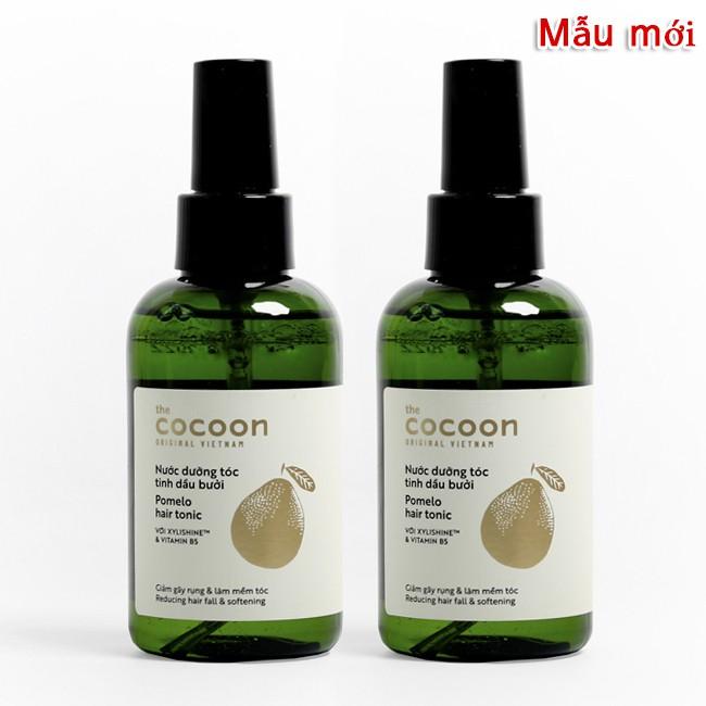 Combo 2 chai Nước dưỡng tóc tinh dầu vỏ bưởi POMELO COCOON giảm rụng tóc,  kích thích rụng tóc, phục hồi hư tổn 140ml | Shopee Việt Nam