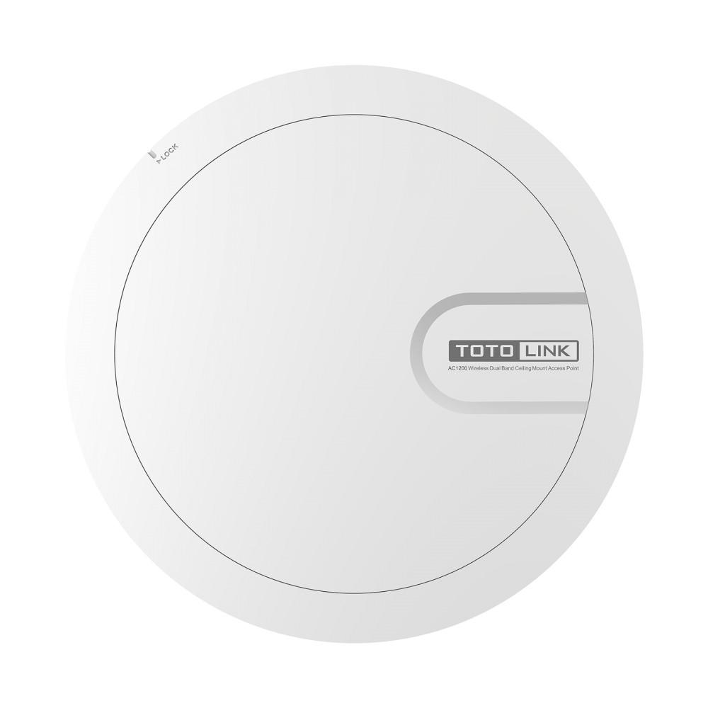 [Mã 267ELSALE hoàn 7% đơn 300K] Thiết bị phát Wi-Fi ốp trần băng tần kép AC1200 CA1200-Poe -