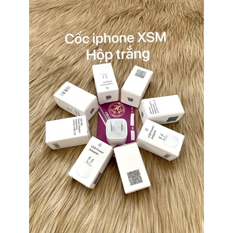 [Mã ELAPR10K giảm 10k đơn 20k] cốc sạc iPhone / củ sạc iphone XSMax