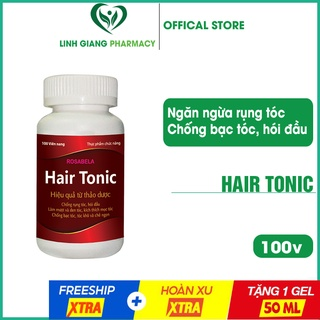 Mọc tóc Hairtonic 100v ❤️FREESHIP❤️ giúp giảm rụng tóc, kích thích tóc mọc nhanh, chắc khỏe, suôn mượt