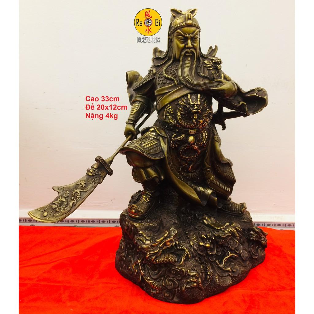 Quan Công đứng chín Rồng - Tượng Đồng Phong Thủy - 13826582 , 2319844043 , 322_2319844043 , 4880000 , Quan-Cong-dung-chin-Rong-Tuong-Dong-Phong-Thuy-322_2319844043 , shopee.vn , Quan Công đứng chín Rồng - Tượng Đồng Phong Thủy