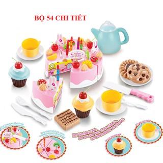 Bộ đồ chơi bữa tiệc sinh nhật 54 chi tiết và 75 chi tiết