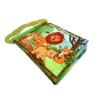 [Nhập TOY1ST giảm 15%]Sách vải Pipovietnam có quai – Động vật ăn thịt