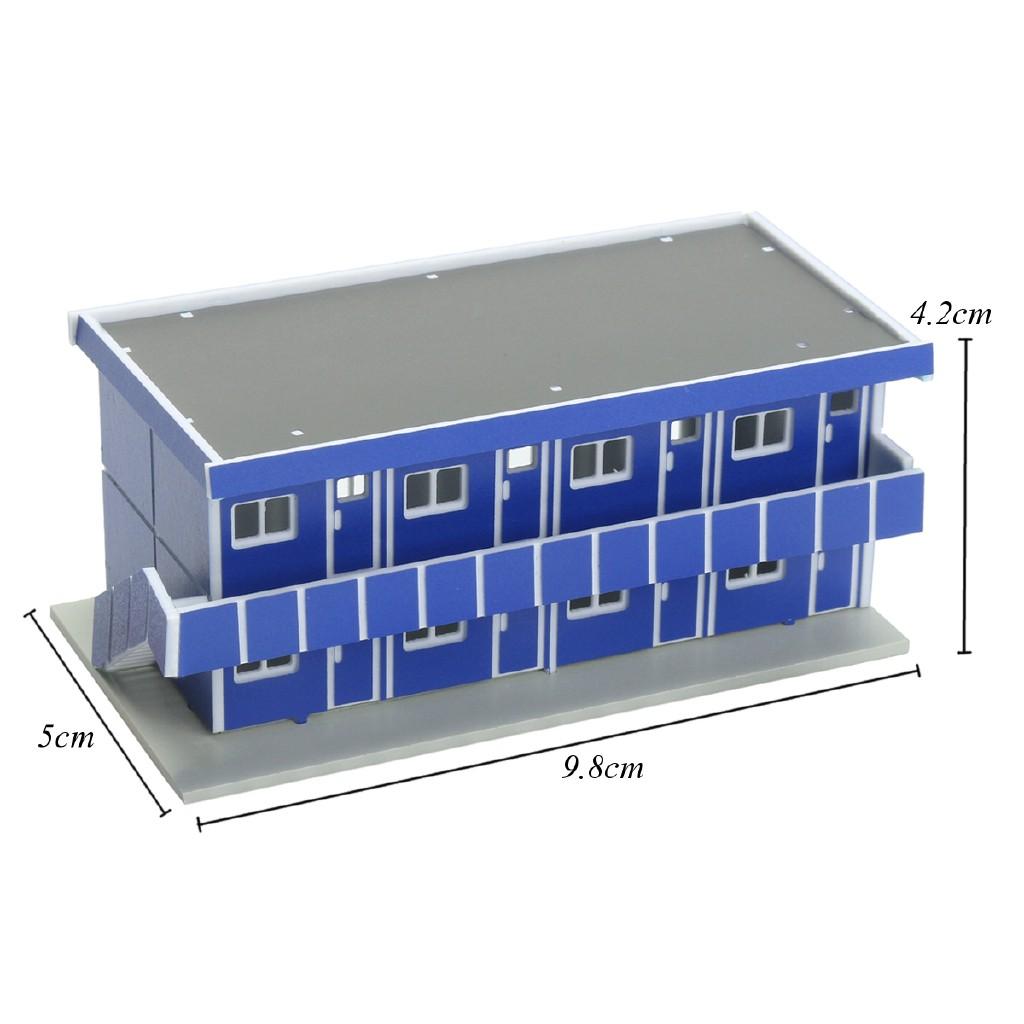 Outland Building Model N Scale Gauge 1/150 Scene Modern House