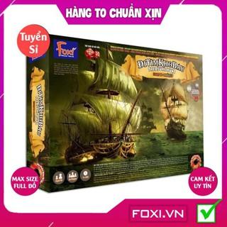 [FREESHIP HÀNG ĐẸP] Board game-Đi tìm kho báu phần 3 Foxi-đồ chơi gia đình tương tác phát triển tư duy-kỹ năng-tập trung