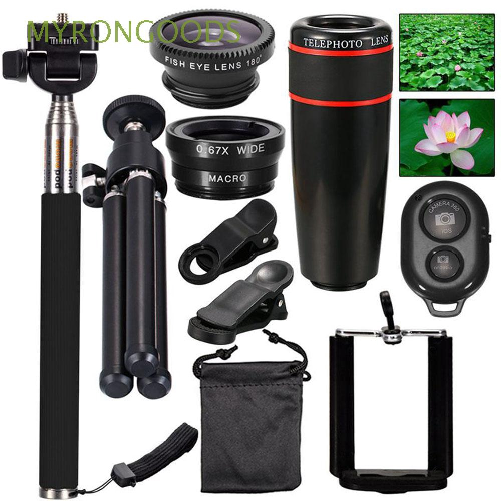 Wide Angle Optical 10 in 1 Telephoto Phone Lens  Phone Camera Cell Clip