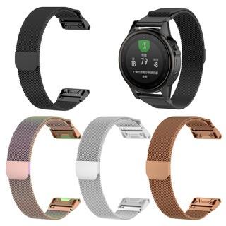 Dây đeo cổ tay khóa nam châm cho đồng hồ thông minh Garmin Fenix 5 5S 5X Plus