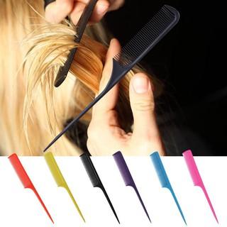 Lụợc nhựa đuôi nhọn hỗ trợ tạo kiểu tóc dễ dàng thao tác chuyên dụng thumbnail