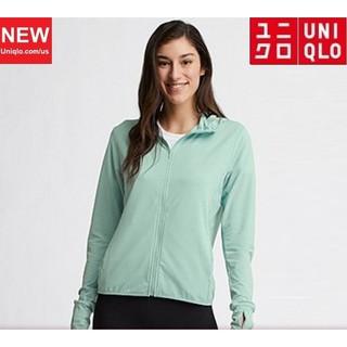 Áo chống nắng Uniqlo Airism UV Cut chống tia cực tím vải thun lạnh thoáng khí thumbnail