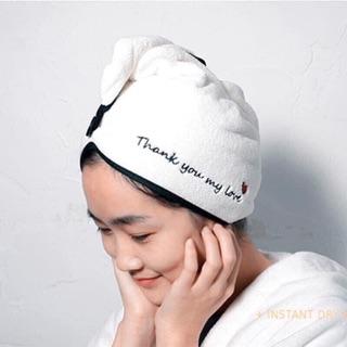 Mũ gội đầu siêu thấm nước, khăn quấn tóc siêu thấm nước cho mẹ