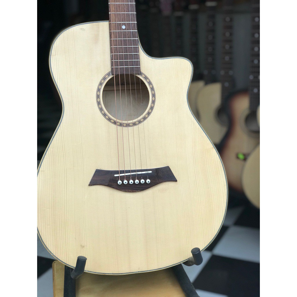Guitar Acoustic có ty chỉnh cong cần GV850PST