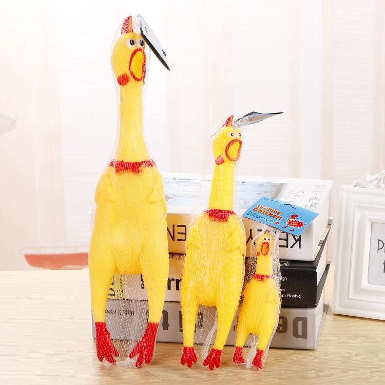 Big, Medium and Small Toys Screaming Chicken