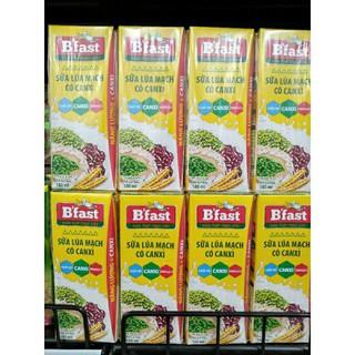 thùng 48 hộp sữa lúa mạch có canxi B'fast 180ml