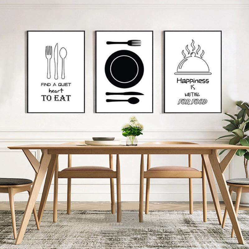 Kết quả hình ảnh cho tranh canvas trang trí phòng ăn