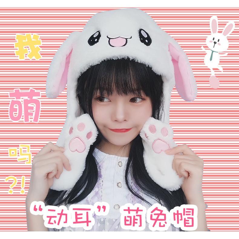 Mũ Tai Thỏ Cute Cử Động Được