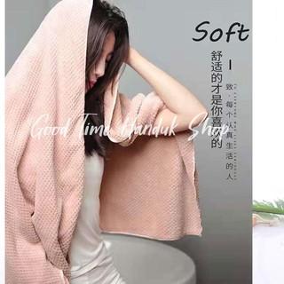 Khăn tắm lông mềm mại cho người lớn và trẻ em 35x75cm / 50x100cm / 70x140cm