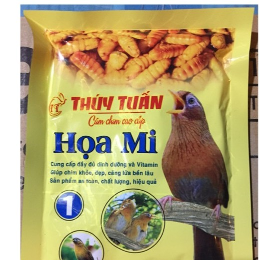 HNTT -Cám chim thúy tuấn - thức ăn chim hoạ mi - cám dành cho chim cảnh|Số 1-200gr