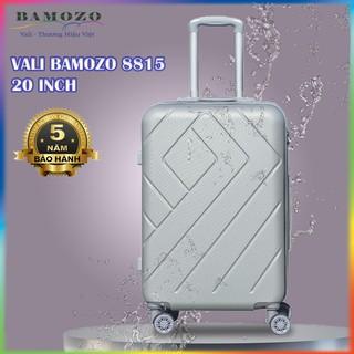 [GIÁ HỦY DIỆT] Vali Nhựa Bamozo 8815 - Vali Du Lịch Size 20 - Size Xách Tay - Chống Va Đập - Trầy Xước - Bảo hành 5 năm thumbnail