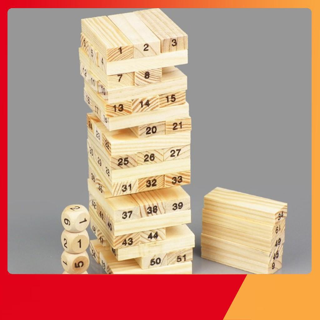 [THANH LÝ GIÁ GỐC] Sỉ 5 rút gỗ mini 54 thanh | HÀNG MỚI