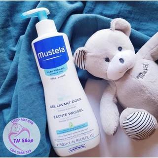 Sữa Tắm Gội Cho Trẻ Sơ Sinh Mustela Bebe Enfant 500ml - Pháp