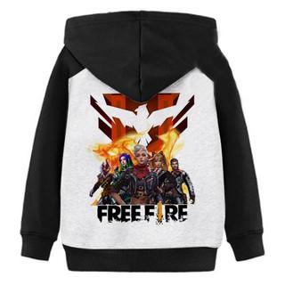 Áo Khoác Trẻ Em Free Fire Siêu Chiến Binh