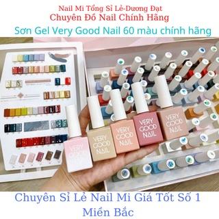 """""""Hàng Chính Hãng"""" sét sơn gel very good nail 60 màu tặng base top +bảng màu + box hàn-Nail Mi Tổng Sỉ Lẻ"""