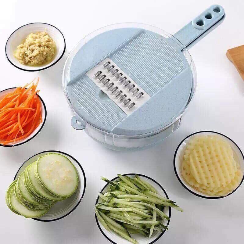 Dụng cụ nạo củ quả lúa mạch 6 món nhà bếp