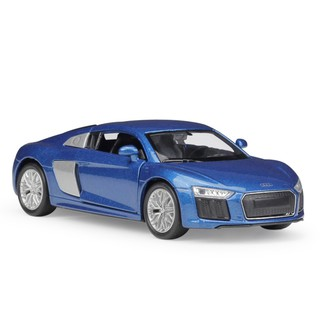 Welly 1:36 2016 Audi R8 V10 blue Diecast Model Car