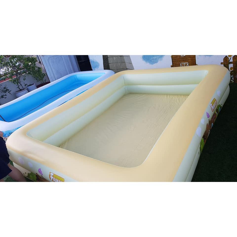 Bể Bơi Phao YOYO loại dày 310*230*55 CM tặng bơm điện 2 chiều