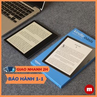 Máy đọc sách Kindle Oasis – thế hệ 10, có WARMLIGTH điều chỉnh tông màu ấm – tên gọi khác Kindle Oasis 3 hộp đựng xấu