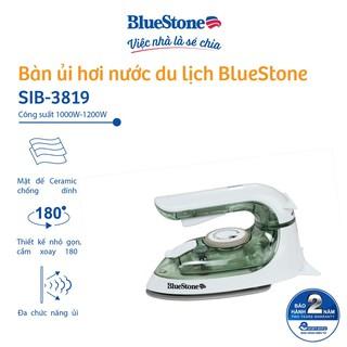 Bàn ủi hơi nước mini BlueStone SIB-3819 (1200W) - Bảo hành 24 tháng - Hàng Chính Hãng thumbnail