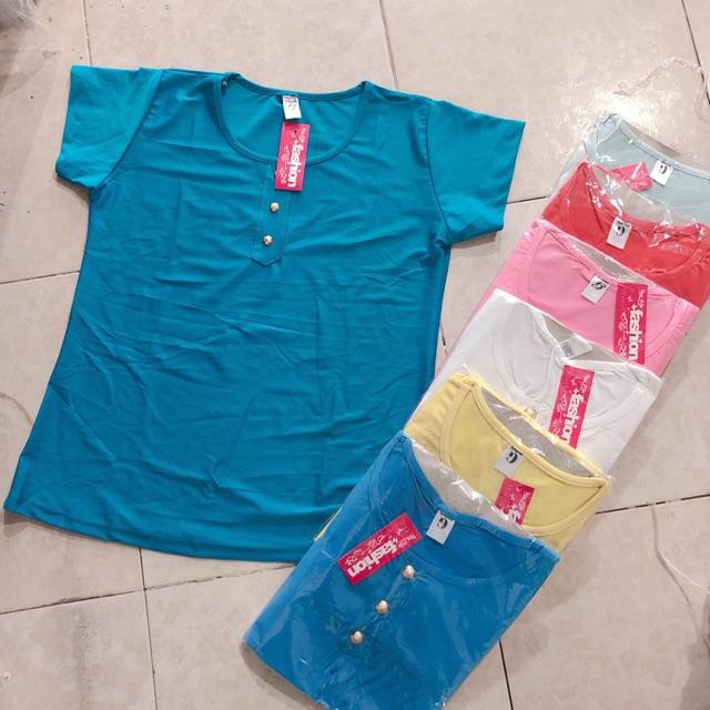 Combo 10 chiếc áo trung niên - chất thun cotton phom dưới 68k