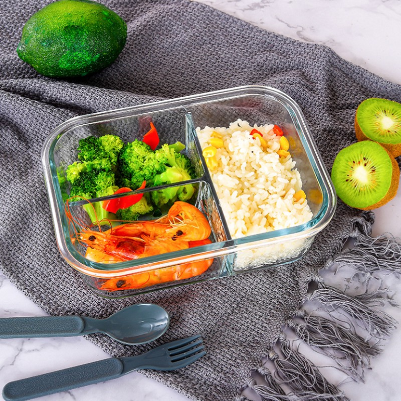 Bộ hộp cơm thủy tinh Yeahcook Glass Food Container