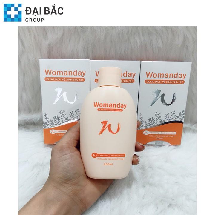 [CHÍNH HÃNG] Dung dịch vệ sinh phụ nữ WOMANDAY 200ML