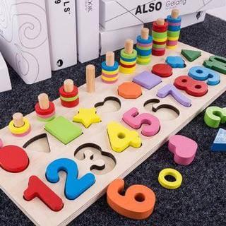 Bộ đồ chơi học chữ số , chơi đếm số nhiều màu cho bé giúp trẻ thông minh, phát triển trí tuệ