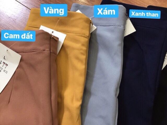 [Mã FAMAYWA giảm 10K đơn 50K] Quần váy 3 cúc thời thượng
