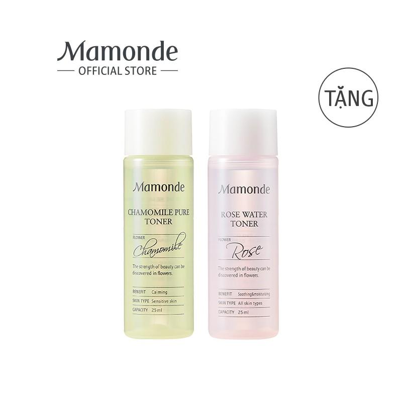 Bộ đôi nước cân bằng cho da thường và da nhạy cảm Mamonde