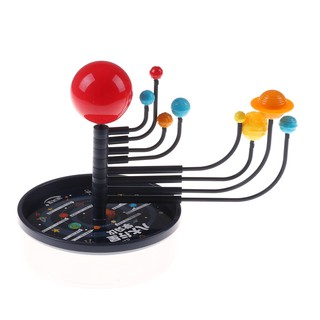 Kid's Educational Toy Explore Nine Planets in Solar System Teaching Toys G