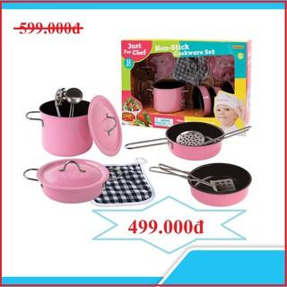 Bộ dụng đồ chơi dụng cụ nấu ăn 11 món