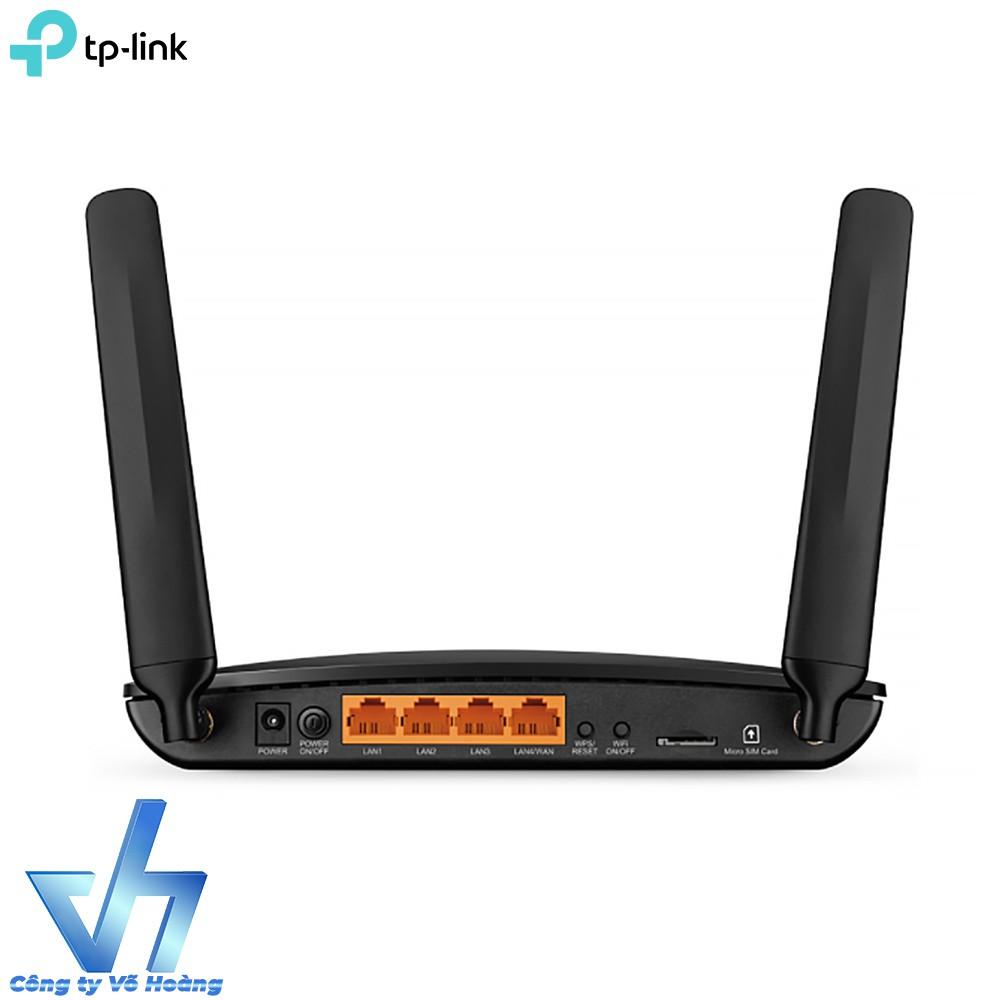 Router Wifi 4G gắn sim trực tiếp TP-Link MR6400 300Mbps